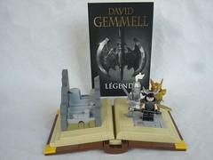 Legend books (fdsm0376) Tags: lego moc creative personalities david gemmel legend book druss earl bronze thirty fantasy dros delnoch drenai