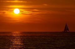 Sunset Sailboat (subrec) Tags: treasureisland johnspass beach ocean gulfofmexico water sand sunset sailboat florida tampabayarea tampabay sunsetcruise boat pentaxk50 pentax pentaxart