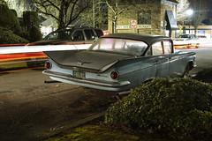 '59 Buick (Curtis Gregory Perry) Tags: portland oregon 1959 buick lesabre car auto automobile classic vintage blue sedan gm nikon d810 longexposure 50s fins bumper chrome retro nostalgia americana automóvil coche carro vehículo مركبة veículo fahrzeug automobil