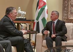 Secretary Pompeo Meets With Kind Abdullah II of Jordan (U.S. Department of State) Tags: secretarypompeo ammanjordan jordan kingabdullahii