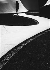 F_MG_5392-BW-3-Canon 6DII-Tamron 28-300mm-May Lee 廖藹淳 (May-margy) Tags: maymargy bw 黑白 人像 逆光 背影 剪影 屋頂花園 步道 幾何構圖 點人 台灣攝影師 街拍 線條造型與光影 天馬行空鏡頭的異想世界 心象意象與影像 台中市 台灣 中華民國 fmg5392bw3 portrait viewfromback backlighting silhouette streetviewphotography linesformandlightandshadow mylensandmyimagination humaningeometry rooftop garden trail walls canon6dii tamron28300mm maylee廖藹淳 humanelement