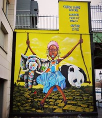 Time for a #swingingwednesday / #art by #Doudou #LouisMasai & #Breeze for @ourcqlivingcolors. . #paris #streetartparis #parisstreetart #urbanart #graffitiart #streetartfrance #msaparis #theparisguru #urbanart_daily #graffitiart_daily #streetarteverywhere (Ferdinand 'Ferre' Feys) Tags: instagram paris france streetart artdelarue graffitiart graffiti graff urbanart urbanarte arteurbano ferdinandfeys