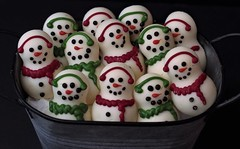 More of the Same. (catherine4077) Tags: snowmen candy chocolate whitechocolate sweet happy