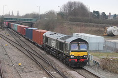 GBRf 66779 'Evening Star' At Trowell Junction. (MarcoRails1991) Tags: gbrf eveningstar class66 66779 brgreen southampton doncaster trowelljunction