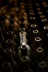 Bottles (Diego Epstein) Tags: empty bottles object wine cellar d600 nikon nikkor 50mm 50mmf14g bokeh white pattern