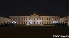 Bellvue Palace (Daveoffshore) Tags: berlin germany bellvue palace building government night official