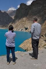 Le bleu turquoise du lac d'Attabad qui a imergé la KKH et des villages © Bernard Grua (Photos de voyages, d'expéditions et de reportages) Tags: gojal bernardgrua karakoram gilgitbaltistan hunza