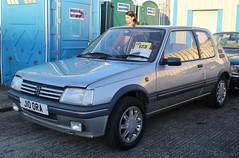 J10 ORA (Nivek.Old.Gold) Tags: 1992 peugeot 205 gentry auto 3door 1905cc aca
