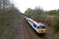 56091 56103 Beighton (Meadowgate Lane) 18 Mar 19 (doughnut14) Tags: 56091 56103 6x56 rail freight diesel loco oldroad beighton midland railvac woodyard doncaster cum meadowgate grid class56