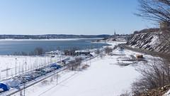 Fleuve Saint-Laurent et Sillery - Québec, Canada  - 0011 (rivai56) Tags: fleuvesaintlaurent sillery québec canada river saintlaurent fleuve photo prise à partir du parc boisdecoulonge
