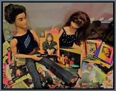 Trading Cards For Grownups Day (marilyntunaitis) Tags: prosetsuperstarsmusicards dolls myscenebarbie barbie tradingcards