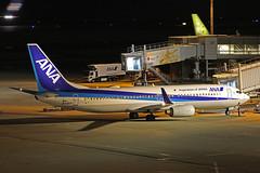 JA65AN, Boeing 737-800, All Nippon Airways, Tokyo Haneda (ColinParker777) Tags: add tags ja74an boeing 737 738 737800 737881 b737 b738 b737800 airliner aircraft airplane plane aviation taxy taxi fly flying flight travel night dark lights reflection handheld ana all nippon airlines airways air nh tokyo haneda japan hnd rjtt airport international canon 5d3 5dmk3 5dmkiii 5diii 100400 mk2 mkii l lens zoom telephoto pro ja65an 33903 3502 parked gate apron parking airbridge