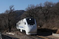 I_B_LBIW8095 (florian_grupp) Tags: asia china train railway railroad beijing peking normalgauge cr s2 badaling yaqing qinglongqiao mountain chinesewall historic station ndj3