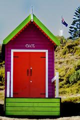 One (Greenstone Girl) Tags: beach rocks boats yachts blue algae colours sunrise clouds waves marina people fffphotowalk