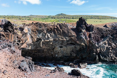 IMG_8509 (jaglazier) Tags: 121318 2018 anakaitangata caves chile december deciduoustrees easterisland grass pacificocean plants ranokau seascapes trees volcanos cliffs clouds coastlines copyright2018jamesaglazier forests landscapes lava mountains oceans parks unescoworldheritagesites volcanicrock waves valparaisoregion