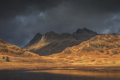 Fells (raymond_carruthers) Tags: countryside fells landscapephotography outdoors landscape bleatarn tarn lakedistrict shadow mountains cumbria moody langdales england langdalepikes clouds