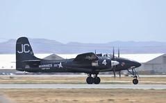Grumman F7F-3P Tigercat B/n.80425 N909TC (GEM097) Tags: airplane aircraft airshow planesoffame chinoairport grummanf7ftigercat n909tc