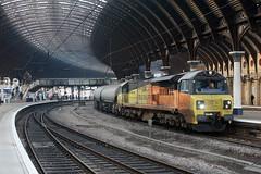 70814 4S89 york plt5 22.02.2019 (Dan-Piercy) Tags: colasrail class70 70814 yorkstation plt5 4s89 westthurrock sidings oxwellmains empty cements ecml
