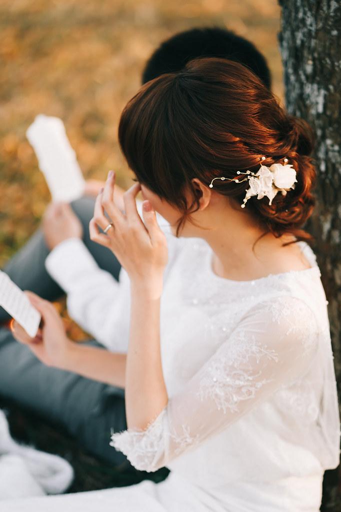[美式婚紗]偉書 & 雅璽 / 戶外草地