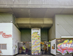 PILLAR WESTWAY FLYOVER (Steve Mepsted) Tags: grenfell community westway westwayflyover westeleven project