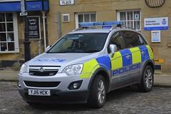 YJ15 HCK (S11 AUN) Tags: north yorkshire police vauxhall antara 4x4 irv incident response panda car 999 emergency vehicle nyp yj15hck