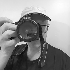myhobby (Eric.Ray) Tags: 2019 365 project black white hobby square nikon cellphone portrait self selfie wah