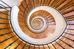 The snail shell (bjoernahrensfotografie) Tags: munich münchen architecture architektur schneckenhaus snailshell minimal lookdown treppenhaus staircase stairs steps stufen treppe spirale spiral