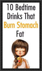 10 Bedtime Drinks That Burn Stomach Fat (healthylife2) Tags: 10 bedtime drinks that burn stomach fat
