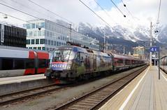 ÖBB 1116 157-9 Gemeinsam sicher, Railjet Innsbruck Hbf (TaurusES64U4) Tags: öbb railjet 1116 taurus