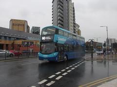 3635, Leeds, 24/04/18 (aecregent) Tags: leeds 240418 transdev transdevyork coastliner volvo b5tl wright gemini3 3635 bt66mvs 843