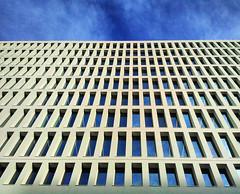 100 Windows (Felson.) Tags: trip travel milan milano italy italia palazzo building finestre windows architecture blu blue cielo sky clouds nuvole songtalesofendurancesupergrass