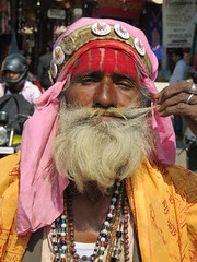 pushkar 2019 (gerben more) Tags: pushkar saddhu beard man oldman rajasthan india people portrait portret moustache