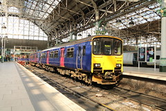 150106 Manchester Piccadilly 8/4/2019 (Martin Coles) Tags: trains train rail railways railway manchesterpiccadilly northern 150106 class150 sprinter
