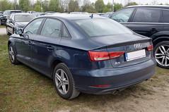 2016 Audi A3 4T Heck (Joachim_Hofmann) Tags: auto fahrzeug audi 4ringe volkswagenkonzern a3 stufenheck sedan limousine