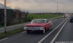 Chevrolet Impala 1959 (XBXG) Tags: dz6559 chevrolet impala 1959 chevroletimpala chevy gm general motors red rood rouge n201 mijdrecht nederland holland netherlands paysbas vintage old classic american car auto automobile voiture ancienne américaine us usa vehicle outdoor