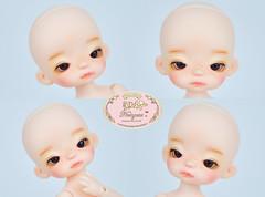 Dollsoom Tiny (♥..Nomyens..♥) Tags: bjd balljointdoll toy doll custom faceup paint painting painted repaint handmade nomyens nomyenscom dollsoom tiny tinydoll