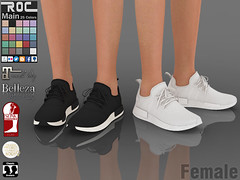 ::ROC:: Running Shoes R1 (FEMALE) (ROC FASHION) Tags: roc roscee shoes sneaker boots chuck runing secondlife sl female woman girl fatpack couple
