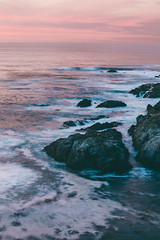 Let the rhythm of the ocean set your soul free.... (Elisa Ursalas Lupu) Tags: california big sur bigsur travel visit pacific coast vacation sunset pinksky waves roadtrip beautiful landscape escape relaxing visitcalifornia usa america