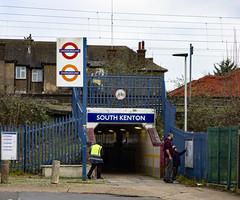 South Kenton Station Entrance (London Less Travelled) Tags: uk unitedkingdom britain england london kenton harrow southkenton station entrance tfl tube underground sign roundel