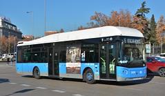 Madrid, Plaza del Emperador Carlos V 04.01.2019 (The STB) Tags: madrid bus autobus autobús busse publictransport citytransport öpnv transportepúblico transporteurbano
