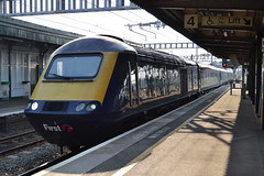 Great Western Railway HST 43018 (Will Swain) Tags: london paddington station 9th july 2018 great western railway hst 43 gwr first group class high speed south west train trains rail railways transport travel uk britain vehicle vehicles england english europe didcot parkway 43018 018 18