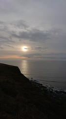 (SociétéRoyale) Tags: aberystwyth sunset wallog cliff path walk sea west wales ceredigion