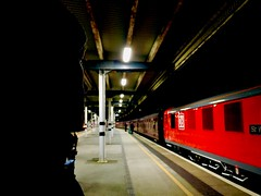 I Have To Say I Love You In a Song (sjpowermac) Tags: railway station lights love valentines red db watching support admiring 90028 looking quiet fresh face eyes sir