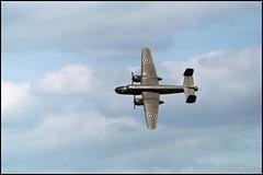 North American B-25 Mitchell (01) (Hans Kerensky) Tags: north american b25 mitchell 1993 minolta x700 kodak gold 200