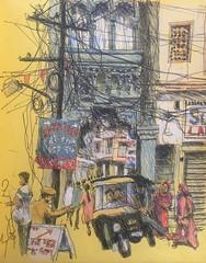 Udaipur, India (Peter Rush - drawings) Tags: drawing sketch uks urbansketchers urbansketch india udaipur