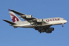 A7-APA Qatar Airways Airbus A380-861 (johnedmond) Tags: perth ypph westernaustralia qatar australia aviation aircraft aeroplane airplane airbus a380 airliner plane sky canon 7dmkii 100400mm ef100400mmf4556lisiiusm eos7d