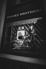 Brooks Brothers: The Jazz Age (awdylanis) Tags: newyork newyorkcity manhattan travel trip traveler city urban ny nyc brooks brothers jazz age thejazzage storefront brooksbrothers suite suit tux tuxedo vintage