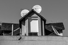 Mickey House (Walimai.photo) Tags: black white blanco negro byn bw branco preto blanc noir house casa mickey lx5 lumix panasonic