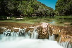 Small cascade on Barton Creek (drumlan) Tags: cascade waterfall water stream bartoncreek austin texas blurred limestone creek barton hillcountry