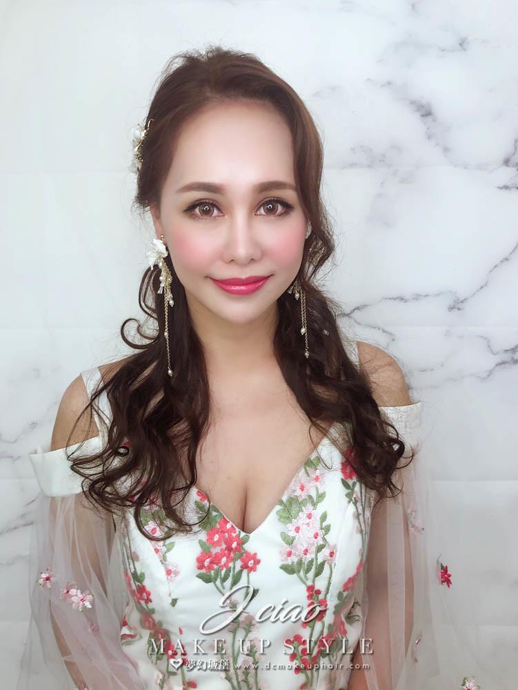 【新秘婕喬】新娘造型創作 / 仙氣空靈少女